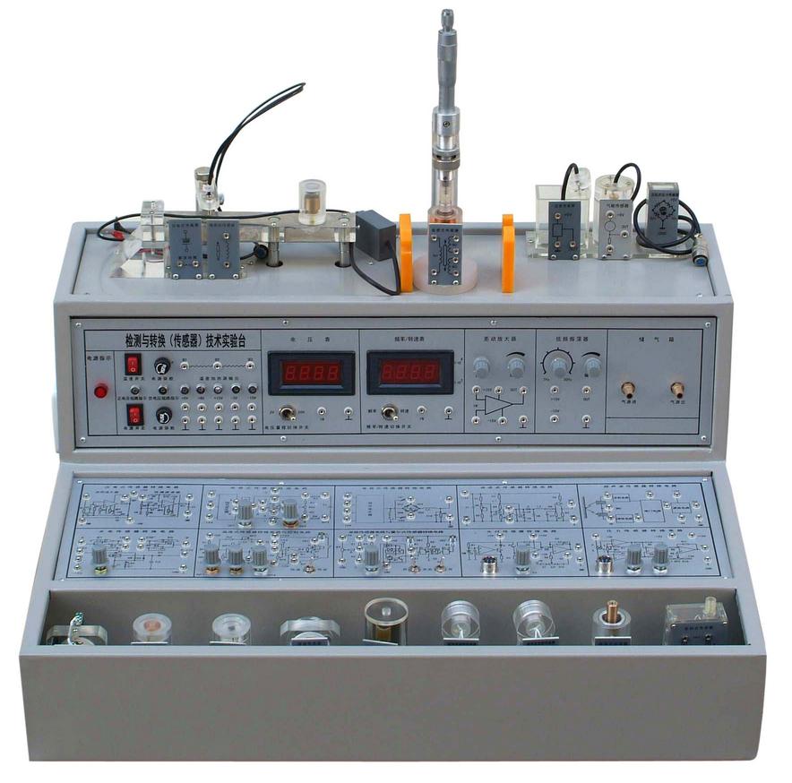 3,传感器转换电路板采用模块式结构,模块上印有转换原理图与接线