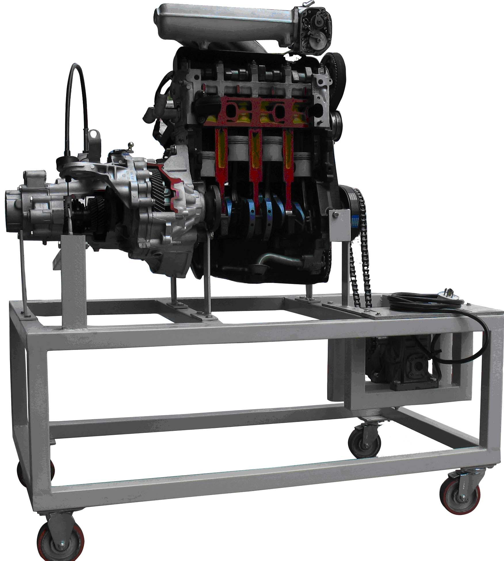 yuy-jp15汽车发动机与变速器解剖模型